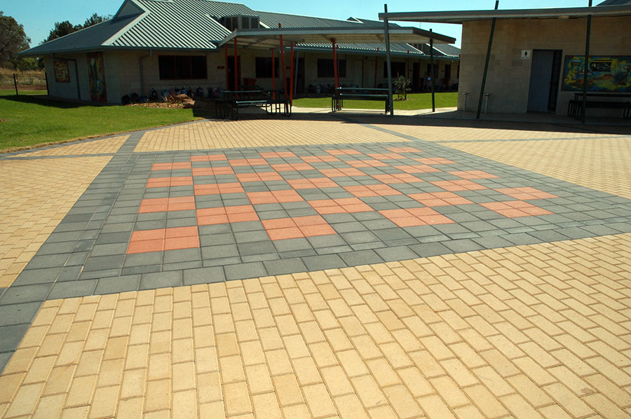 Dry Press Concrete Pavers